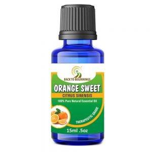 Back To Beginnings Orange Sweet Essential Oil